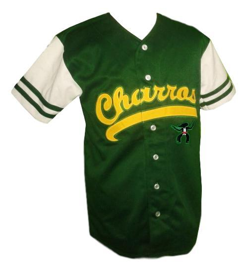 Kenny powers  55 charros eastbound and down tv baseball jersey button down green  1