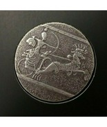 2020 ERS Chariot of War 5 oz Antiqued Silver Coin - $255.00