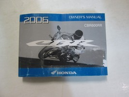 2006 Honda CBR600RR Cbr 600 Rr Owners Operators Owner Manual Factory Brand New - $49.50