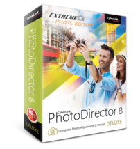 CyberLink PhotoDirector 8 Deluxe for PC - Digital Download, Fast Delivery - $24.99
