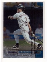 1999 Topps Finest #18 Quinton McCracken Tampa Bay Devil Rays Collectible... - $0.99