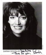 Sarah Douglas Signed Autographed Glossy 8x10 Photo - $29.99