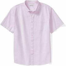 Essentials Men'S Big & Tall Short-Sleeve Pocket Oxford Shirt Fit By Dxl - $30.68