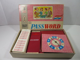 Vintage 1963 PASSWORD Volume 3 by Milton Bradley Board Game No. 4260 Complete - $12.19