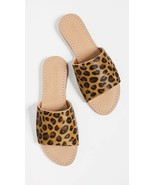 $166 Anthropologie Mystique Sandals Slides in Leopard Pony Hair sz 9 - $39.59