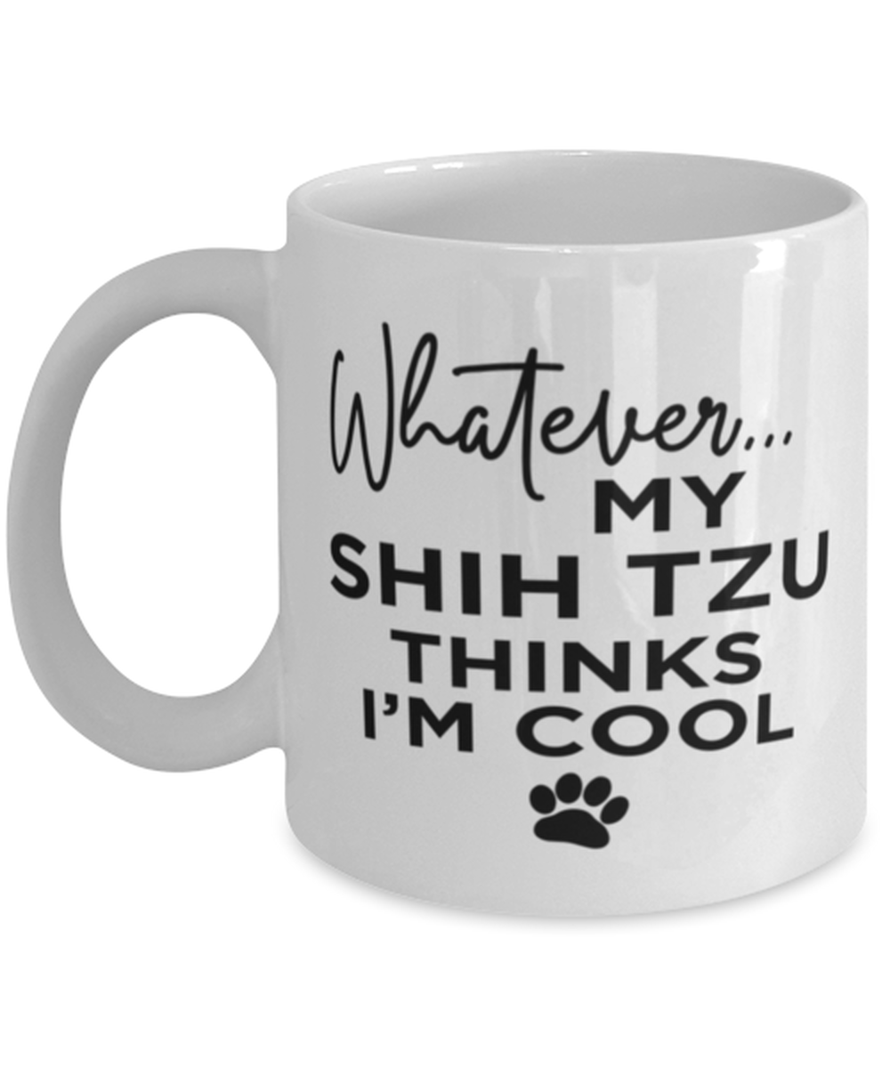 Primary image for Shih Tzu Dog Lovers Coffee Mug - Funny 11 oz Tea Cup For Friends Office