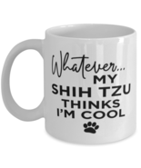 Shih Tzu Dog Lovers Coffee Mug - Funny 11 oz Tea Cup For Friends Office  - $13.95