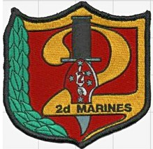 USMC 2nd Marine Regiment Patch & Sticker NEW!!! - $19.79