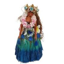 Vintage Hula Girl Aloha Luau Musical Dance Doll Tiki Hawaiian Tzuling 19... - $39.59
