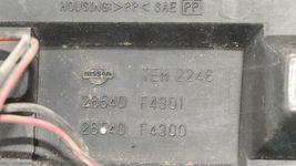 98-99 Nissan Sentra B14 Tail Lights & Center Reflector Panel Carbon Fiber Look image 11