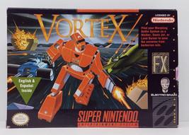 Vortex Super Nintendo SNES Box Only Original 1994 Box - $13.49