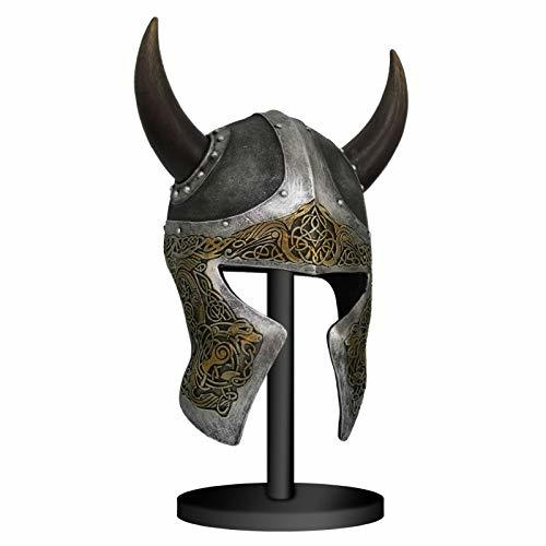 Primary image for Pacific Giftware Viking Helmet Mask with Stand Sculpture