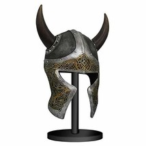 Pacific Giftware Viking Helmet Mask with Stand Sculpture - $168.29