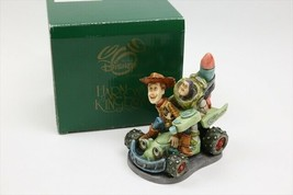 HARMONY KINGDOM DISNEY TOY STORY harmony KINGDOM Toy Story Woody Buzz 500 - $229.61