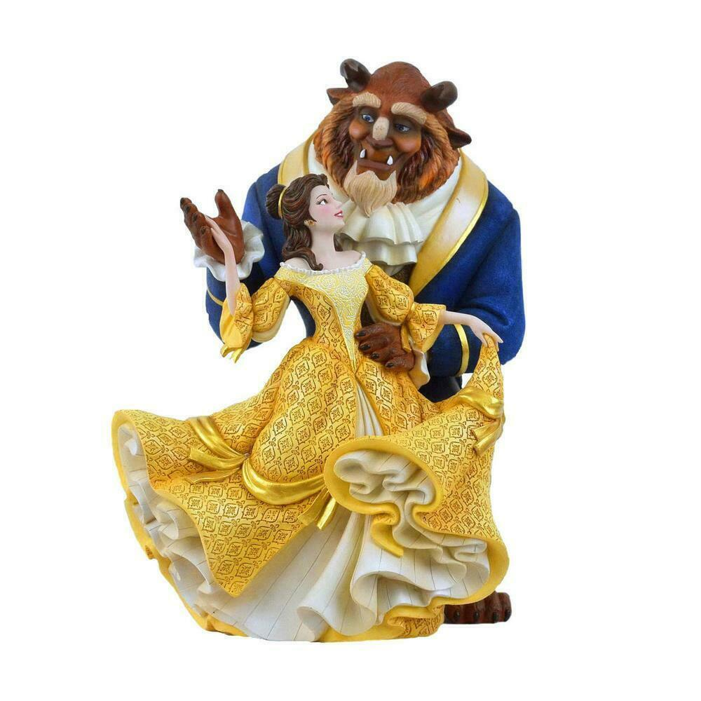 "10.24"" Beauty and the Beast Figurine w Belle & Beast Disney Showcase Collection"
