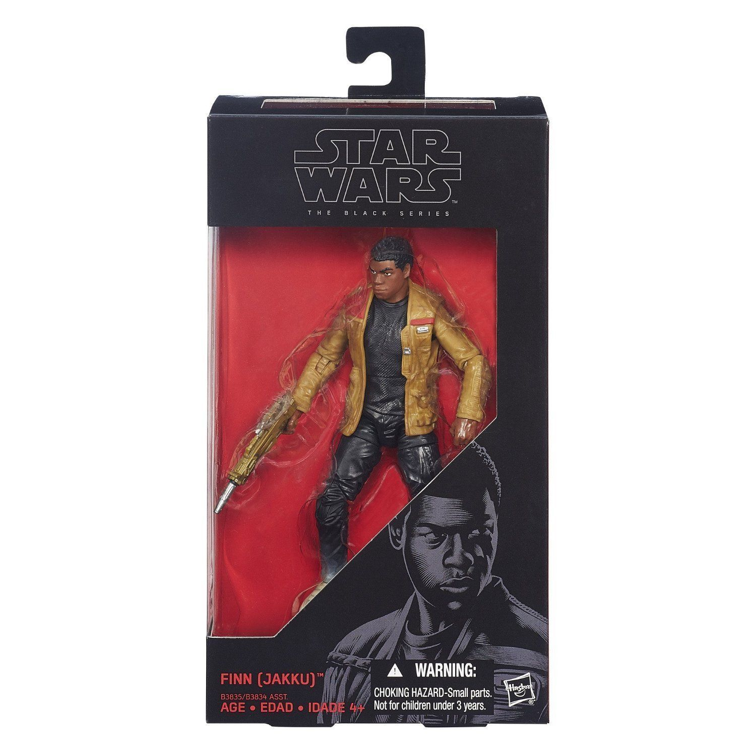 Image 3 of Star Wars The Black Series 6-Inch Action Figure First Order Finn (Jakku)