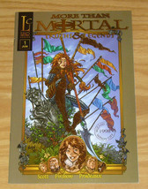 More Than Mortal: Truths & Legends #1 VF/NM gold foil variant  wizard wo... - $7.50