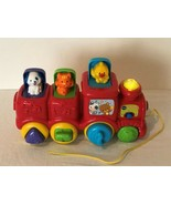 Vtech Roll and Surprise Animal Train Press and Pop Up Animals Light Soun... - $11.99