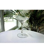 Sears Crystal Ambassador Pattern Clear Champagne Glass Multiple Avail. - $18.80