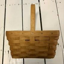1997 Longaberger Rectangular Basket and Plastic Protector - $19.00