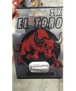EL TORO 25K Pill Premium Male Enhancement ( 5 ) pack  - $39.99