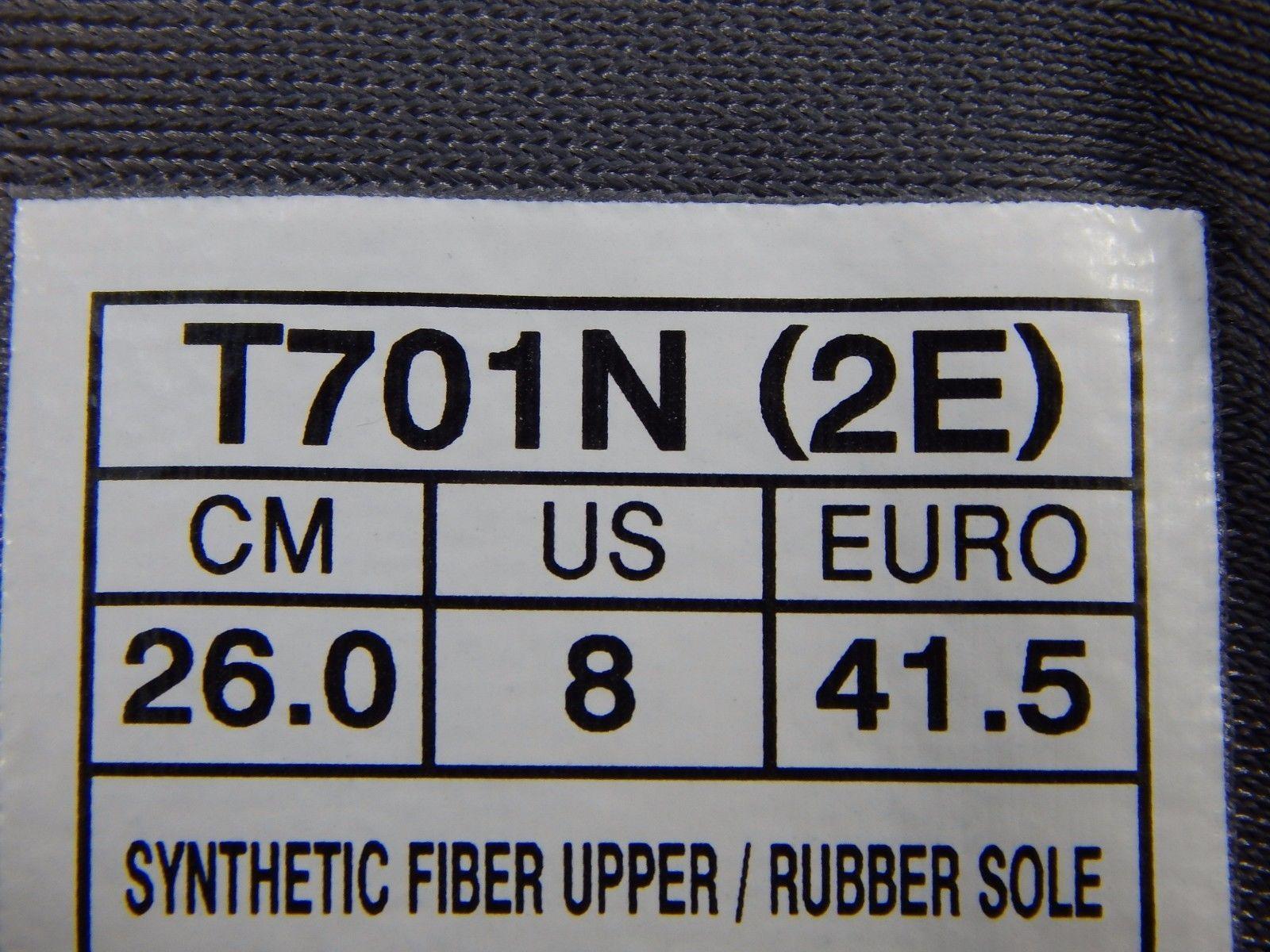 Asics Gel Nimbus 19 Men's Running Shoes Size US 8 2E WIDE EU 41.5  T701N (2E)