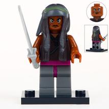 Michonne The Walking Dead Minifigures Toy Custom Minifig Building Superh... - $3.49