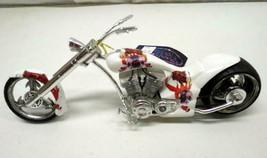 Tattoo Rose Phantasy Chopper Custom Motorcycle Skull Bike by Westland Di... - $29.65