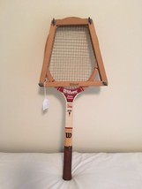 Wilson Jimmy Connors Professional Champ Tennis Racquet w/Wood Frame 41/2... - $24.75