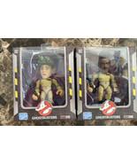 GHOSTBUSTERS - WINSTON ZEDDEMORE & RAY STANTZ (3)inch Figurines Fully Po... - $24.74