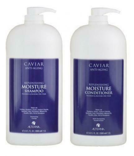Primary image for Alterna Caviar Replenishing Moisture Shampoo & Conditioner 64 oz Duo