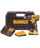 Dewalt - 20V MAX* XR Li-Ion Brushless Compact Drill/Driver Kit ( DCD791... - $309.99