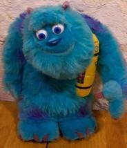 "Disney Monsters Inc. TALKING LIGHT-UP SULLEY 14"" Plush STUFFED ANIMAL Toy - $22.28"