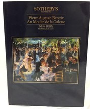 Sothebys NY RENOIR Au Moulin de la Galette Auction Catalog Thursday May ... - $24.18