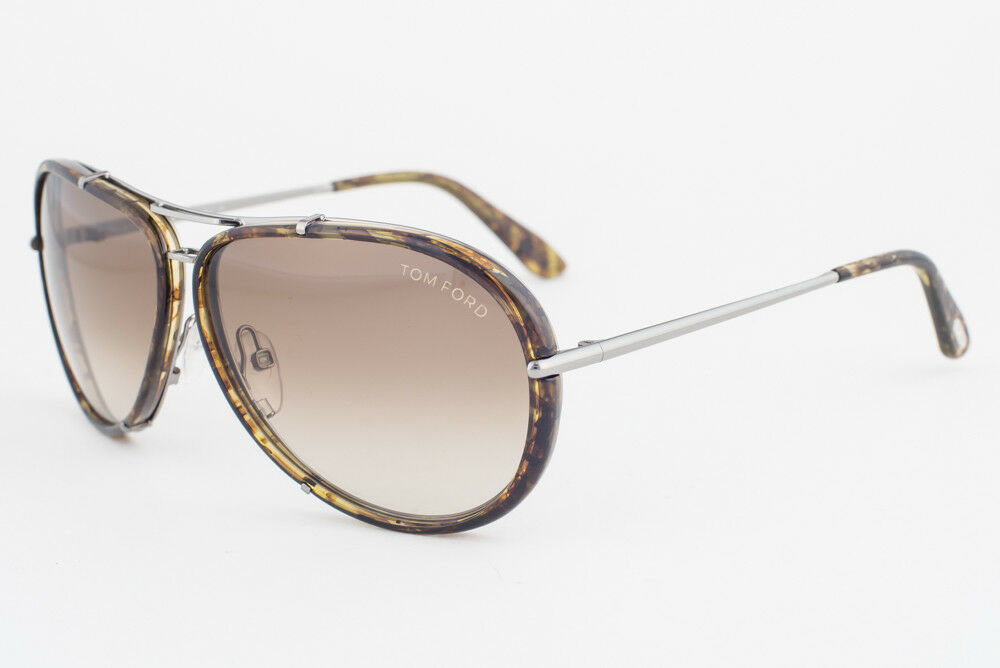Primary image for Tom Ford Cyrille Havana Gold / Brown Gradient Sunglasses TF109 14P