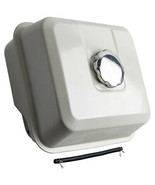 White Chrome Gas Tank Fuel Filter + Cap Fit for Honda GX340 GX390 17510-... - $58.30