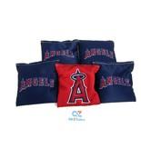 Cornhole Bean Bags Set of 5 (only) ACA Regulation Bags Los Angeles Angels - $24.70