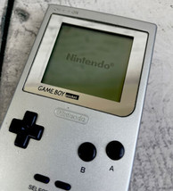 Nintendo Game Boy Pocket MGB-001 Silver Platinum System Console Tested Works - $84.10