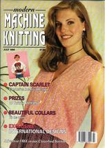 Modern Machine Knitting Jul 1994 Magazine Intarsia Captain Scarlet to th... - $21.37