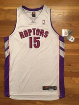 BNWT NWT 2000-01 Nike Toronto Raptors Vince Carter Home Pro Cut Jersey 5... - $999.99