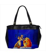 Oversized bag lady and the tramp & animation dogs cocker spaniel - $50.00