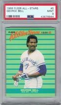 George Jorge Bell Toronto Blue Jays 1988 Fleer All-Stars 1 PSA 9 Mint POP 1! - $19.95