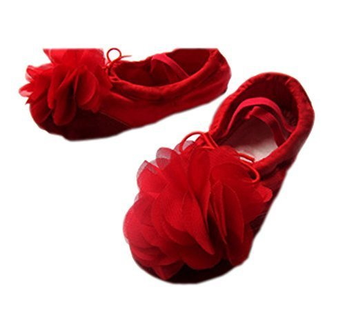 Dance Class Ballet Shoes/Dance Shoes For Pretty Girls (18CM Length)-Red