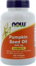 NOW Supplements, Pumpkin Seed Oil 1000 mg with Essential Fatty Acids - $75.89