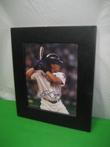 2006 Baseball Arizona Diamondbacks Royce Clayton Game Black Frame Picture - $12.82