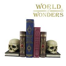 "Skull Tell Tale Secrets Bookend BoxEdgar Allen Poe Gothic Home Decor 12"" - £36.67 GBP"