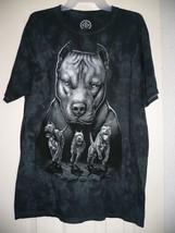 Pitbulls Dog Run Men's Short Sleeve T Shirt Size Small 34-36 Gray NEW - $13.85