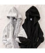 Sherpa Fuzzy Women's Hooded Jacket - $38.61