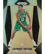 Jayson Tatum Prizm 17-18 #16 Silver Prizm Rookie Card Boston Celtics - $1,250.00