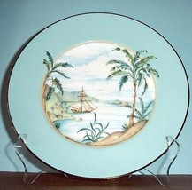 "Lenox British Colonial Tradewind Accent Luncheon Plate 9.5"" - $19.90"